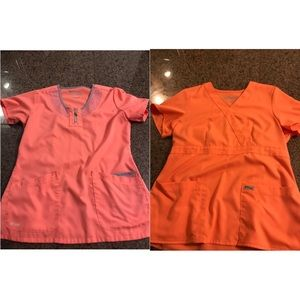Greys anatomy scrub tops **bundle**